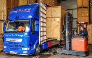 containerised storage transport